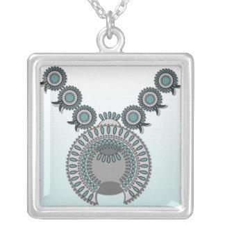 Large Necklace SQUASH BLOSSOM