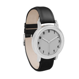 Large Numerals watch