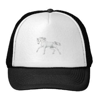LARGE OPEN HORSE TRUCKER HAT