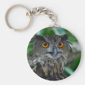 Large Owl Keychain