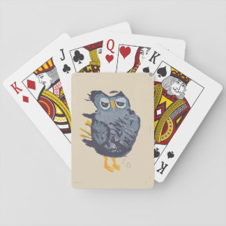 Large Owl Playing Cards