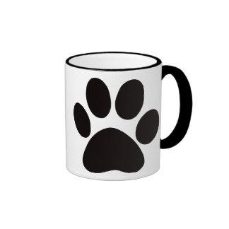 Large Paw Print Coffee Mug