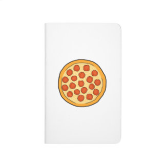 Large Pepperoni Pizza Whole Pizza Drawing Art Yum Journal