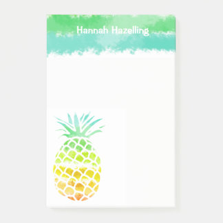 Large Pineapple Personalized Note Pad