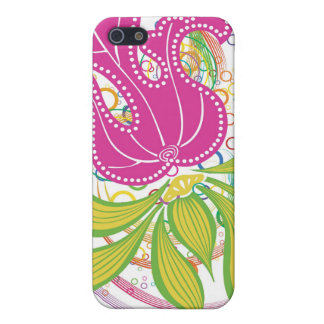 Large Pink Water Lilly iPhone 5 Cover