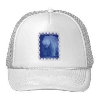 Large Polar Bear Baseball Hat