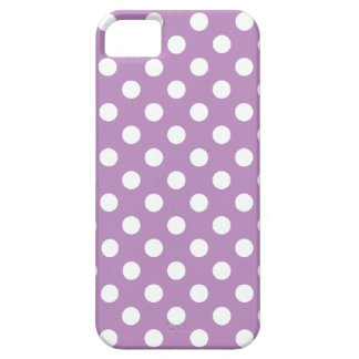 Large Polka Dot Purple iPhone 5 Case