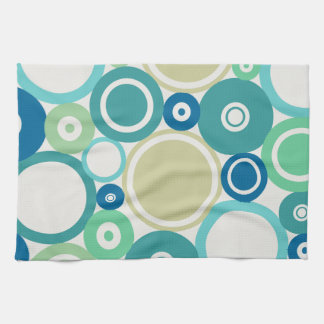 Large Polka Dots Beach theme Kitchen Towel