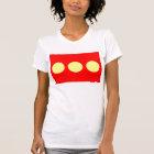 LARGE PRINT Freetown Christiania Flag T-Shirt