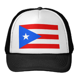 Large Puerto Rican Flag Cap