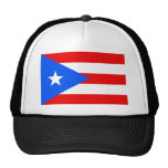 Large Puerto Rican Flag Mesh Hats