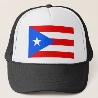 Large Puerto Rican Flag Trucker Hat