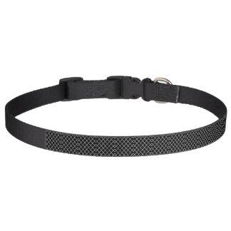 Large Quatrefoil Pattern Dog Collar