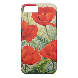 Large Red Poppies iPhone 8 Plus/7 Plus Case