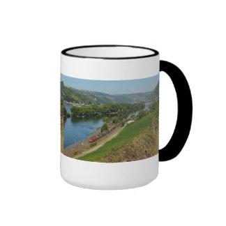 Large Ringer cup black central Rhine Valley Lorch Ringer Mug