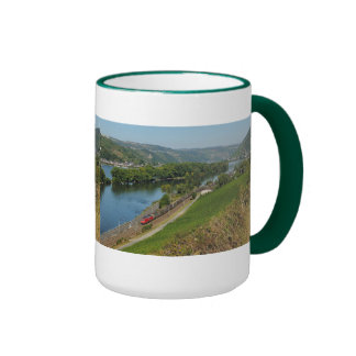 Large Ringer cup green central Rhine Valley Lorch Ringer Mug