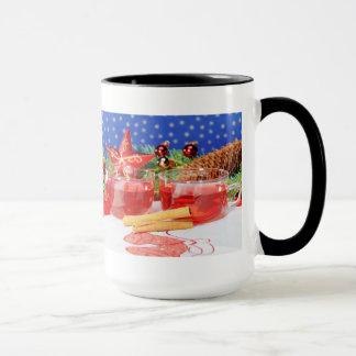Large Ringertasse glad Christmas Mug