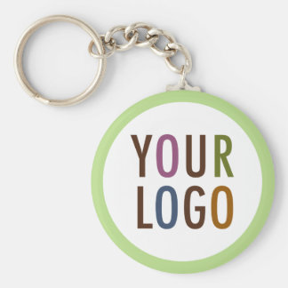 Large Round Keychain with Custom Logo Promotional