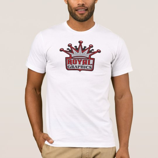 Large Royal Graphics Logo T-Shirt