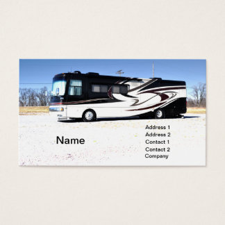large RV or recreational vehicle