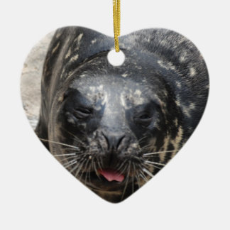 Large Seal Christmas Tree Ornament