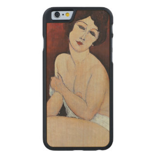Large Seated Nude (oil on canvas) Carved® Maple iPhone 6 Slim Case