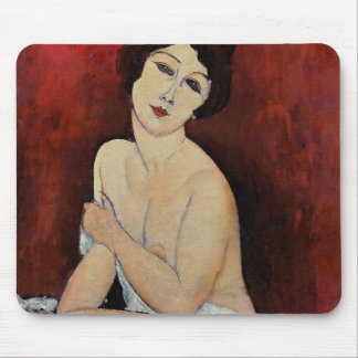 Large Seated Nude (oil on canvas) Mouse Mat