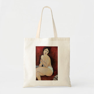 Large Seated Nude (oil on canvas) Tote Bag