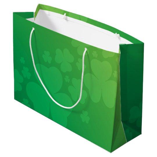 Large Sharmrock Gift bag