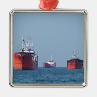 Large Ship Anchorage Christmas Ornament