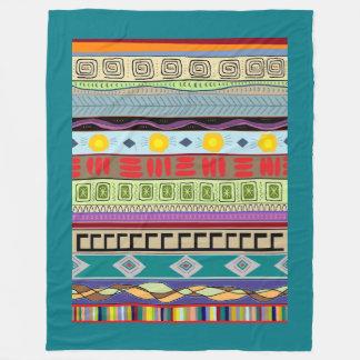 Large Size Beautiful Tribal Pattern Blanket