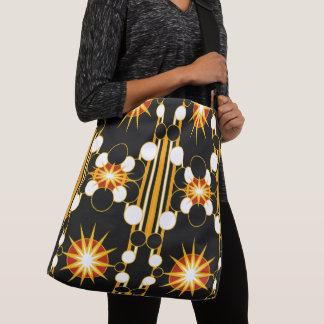 Large-Sized Tote Bag Modern Geometric #2