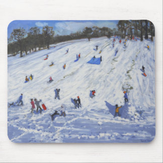 Large snowman Chatsworth 2012 Mouse Mat