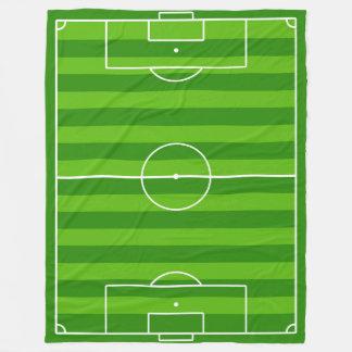 Large Soccer Field / Football Pitch Fleece Blanket