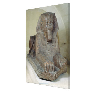Large sphinx, from Tanis Canvas Print