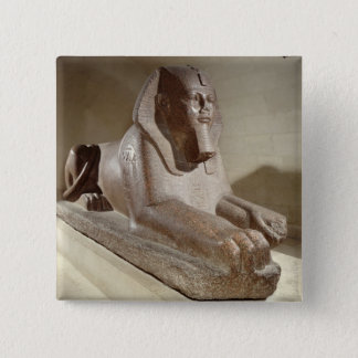 Large Sphinx, from Tanis (granite) 15 Cm Square Badge