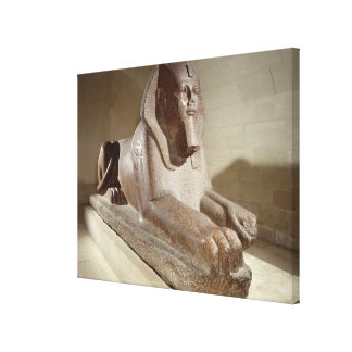 Large Sphinx, from Tanis (granite) Canvas Print