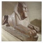 Large Sphinx, from Tanis (granite) Tile