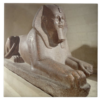 Large Sphinx, from Tanis (granite) Tile