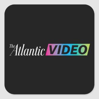 Large Square Atlantic Video Sticker
