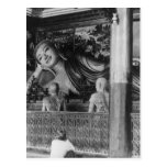 Large Statue of Buddha in Thailand Post Card