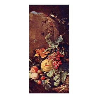 Large Still Life With Bird S Nest By Heem Jan Davi Custom Rack Cards