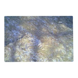 Large Stone Laminated Placemat