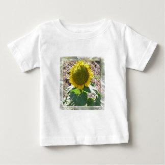 Large Sunflower Photo semitransparent frame Tee Shirt