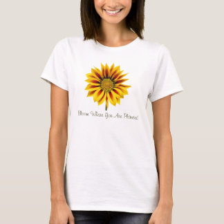 Large Sunflower T-Shirt