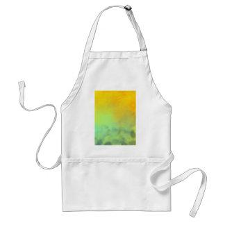 Large sunset standard apron