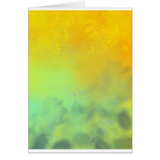 Large sunset greeting card