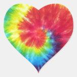 Large Swirl Heart Stickers