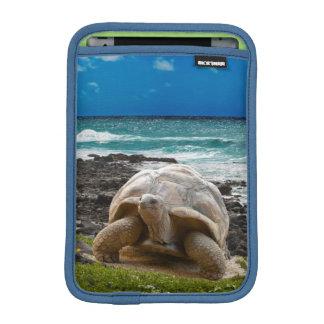 Large turtle at the sea edge iPad mini sleeve