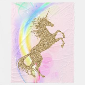 Large Unicorn Blanket